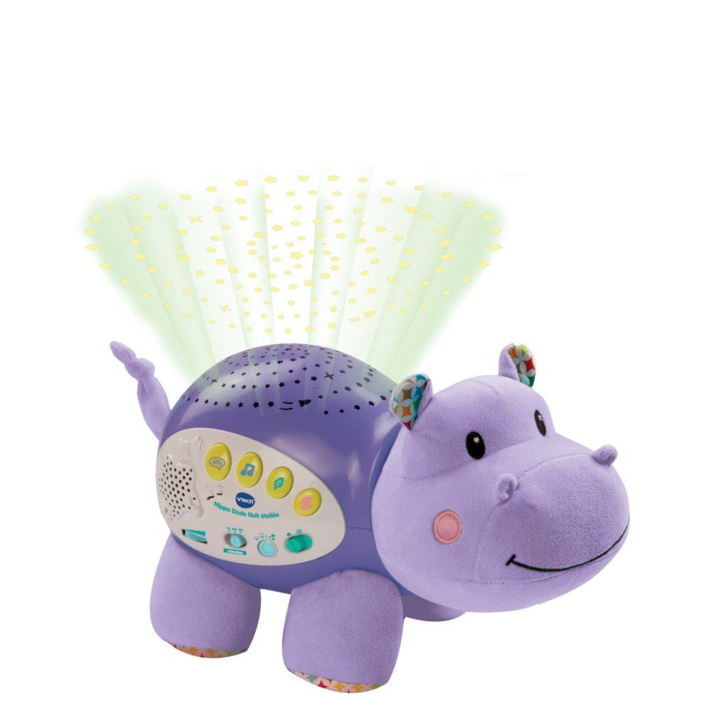 Vous pouvez désormais opter pour cette Veilleuse Hippo Dodo Nuit Etoilée de Vtech.